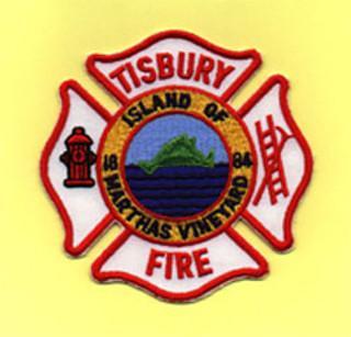 Tisbury Fire Department patch