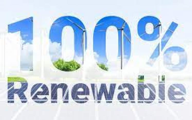 Tisbury 100 renewable energy